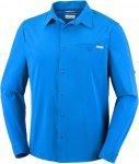 Columbia Triple Canyon L/S Shirt Wanderhemd Herren dunkelblau XL, Gr. XL
