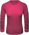 Schöffel Merino Sport Shirt 1/1 Arm W Funktionsunterwäsche Damen rot XL, Gr. X