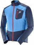 Salomon RS Softshell Jacket M Herren dunkelblau,dress blue/hawaiian surf