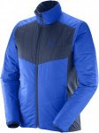 Salomon Drifter Mid Jacket M Winterjacke Herren dunkelblau,surf the web/dress bl