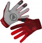 Endura Singletrack Herren Handschuh Limited rot S, Gr. S