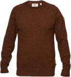 Fjällräven Övik Re-Wool Sweater M Pullover Herren beige XL, Gr. XL