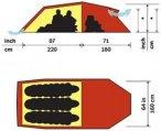 Hilleberg Nallo 3 GT Trekkingzelt rot