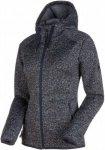 Mammut Chamuera ML Hooded Jacket Women Fleecejacke Damen dunkelblau