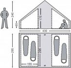 Nordisk Utgard 13.2 Basic Cabin Innenkabine