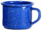 Relags Emaille Espressotasse blau