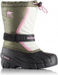 Sorel Childrens Flurry Winterstiefel grün 30, Gr. 30