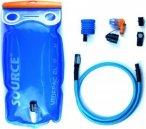 Source Ultimate Hydration System 2 L transparent-blue