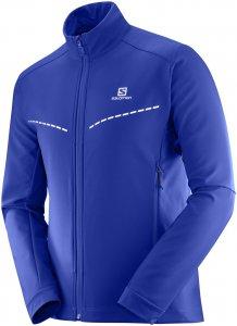 Salomon Agile Softshell Jacket M Softshelljacke Herren blau M, Gr. M