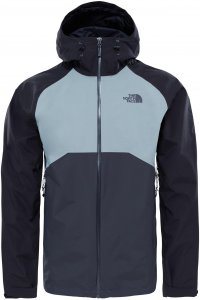 The North Face M Stratos Jacket Hardshelljacke Herren dunkelgrau