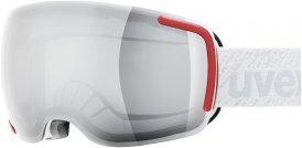 Uvex Big 40 LM Skibrille weiß rot