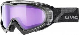 Uvex F 2 Skibrille schwarz
