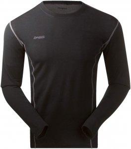 Bergans Akeleie Shirt - Merino-Unterhemd black XL