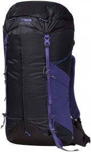 Bergans Helium W 55 - Trekkingrucksack solid charcoal-funky purple