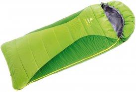 Deuter Dreamland - Schlafsack für Kinder kiwi-emerald links