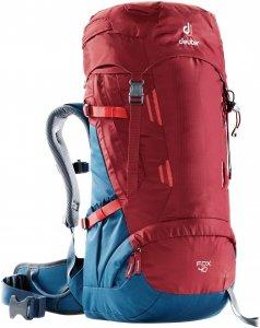 Deuter Fox 40 - Trekkingucksack für Jugendliche cranberry-steel