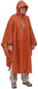 EXPED Bivy Poncho - Rucksackponcho terracotta