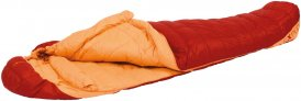 EXPED Lite +1° M - Daunenschlafsack rot-orange links