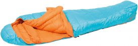 EXPED Winterlite -6° M - Daunenschlafsack hellblau-orange links