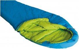 HIGH PEAK Hyperion 1 L - Schlafsack blau-grün links