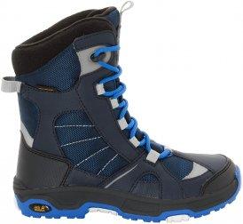 Jack Wolfskin Boys Snow Ride Texapore - Winterstiefel vibrant blue 32,0