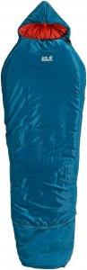 Jack Wolfskin Grow Up Comfort - Kinderschlafsack moroccan blue links