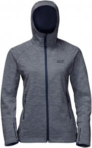 Jack Wolfskin La Cumbre Trail Jacket - Fleecejacke midnight blue M
