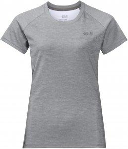 Jack Wolfskin Women's Hydropore XT - T-Shirt alloy S