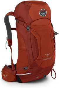 Osprey Kestrel 28 - Wanderrucksack dragon red M/L