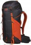 Bergans Helium 40 - Trekkingrucksack solid charcoal-koi orange