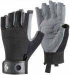Black Diamond Crag Half-Finger - Klettersteighandschuhe black XS