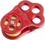 DMM Triple Attachment Pulley - Seilrolle red