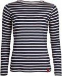 elkline u-boot - Damen Rippshirt blueshadow-white 36