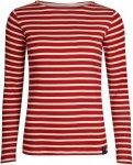 elkline u-boot - Damen Rippshirt chilipepperred-white 42