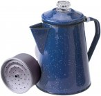 GSI Percolator 8 Cup - Enamel Kaffeekocher blue