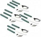 GSI Pioneer Cutlery Set - Enamel Besteckset green