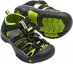 KEEN Kids Newport H2 - Kindersandalen black-lime green 24