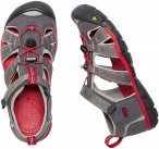 KEEN Youth Seacamp II CNX - Jugendsandalen magnet-racing red 37,0