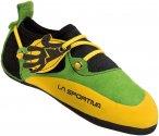 La Sportiva Stickit - Kinder-Kletterschuh green-yellow 28/29