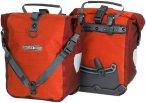 Ortlieb Sport Roller Plus - Vorderradtasche signalrot-chili