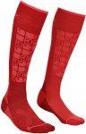 Ortovox Ski Compression Socks Women - Socken dark blood 42/44