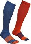 Ortovox Tour Compression Socks Men - Kniestrümpfe night blue 39/41