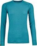 Ortovox Women's 145 Ultra Long Sleeve aqua L
