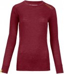 Ortovox Women's Merino Ultra 105 Long Sleeve dark blood XS