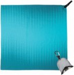 PackTowl Nano - Sporthandtuch teal pixel