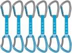 Petzl Djinn Axess - Express-Set 12 cm blau 6er Set