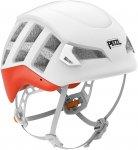 Petzl Meteor - Kletterhelm white-red orange S/M