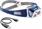 Petzl REACTIK - Stirnlampe blau