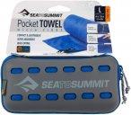 Sea to Summit Pocket Towel L - Trekking-Handtuch cobalt