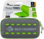 Sea to Summit Pocket Towel L - Trekking-Handtuch lime